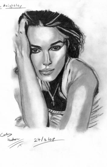 Keira Knightley by ArtFanatic